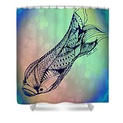 Free In The Rivers Shower Curtain