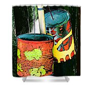 Free Local Calls Shower Curtain by Steve Taylor