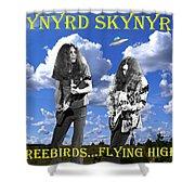 Freebirds Flying High Shower Curtain