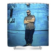 Freediver  Shower Curtain