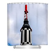 Freedom 7 Shower Curtain by Bob Orsillo
