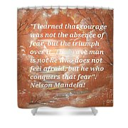Freedom And Courage Shower Curtain