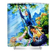 Freedom Chains Shower Curtain