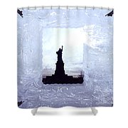Freedom Lady Shower Curtain