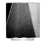 Freedom Tower Abstract Shower Curtain