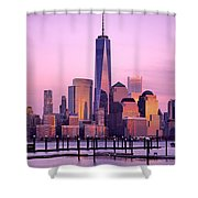 Freedom Tower Nyc Shower Curtain