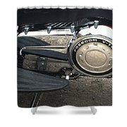 Freedom V-twin Shower Curtain