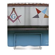 Freemasons Shower Curtain