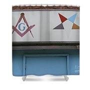 Freemasons Shower Curtain