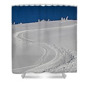 Freeride Shower Curtain