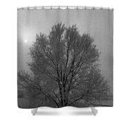 Freezing Fog Shower Curtain