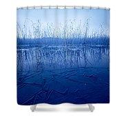 Freezing Shower Curtain