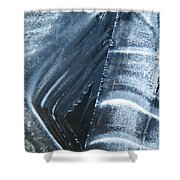 Freezing Point Shower Curtain