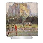 Freias Garden, 1906 Shower Curtain