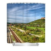 Freiburg Shower Curtain