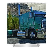 Freightliner Cabover Shower Curtain