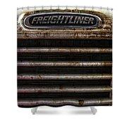Freightliner Highway King Shower Curtain