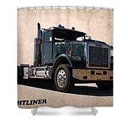 Freightliner Shower Curtain