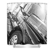 Freightliner Side View Shower Curtain