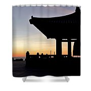 Freindship Bell Shower Curtain