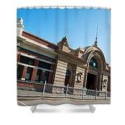 Fremantle Train Station Shower Curtain