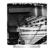 Fremont Street Neon Shower Curtain