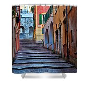 French Alley Shower Curtain