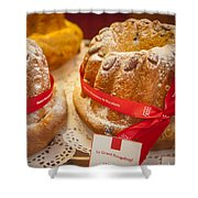 French - Alsace Pastry Shower Curtain