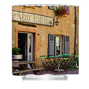 French Auberge Shower Curtain