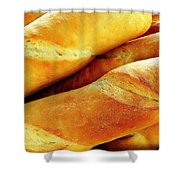 French Bread Shower Curtain