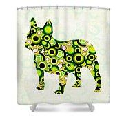 French Bulldog - Animal Art Shower Curtain