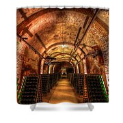 French Champagne Cellar Shower Curtain