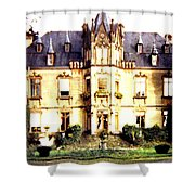 French Chateau 1955 Shower Curtain
