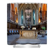 French Church Alter Shower Curtain