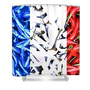 French Connection Shower Curtain