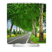 French Country Road Shower Curtain