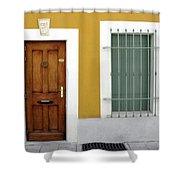 French Doorway Shower Curtain