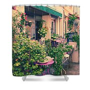 French Floral Shop Shower Curtain