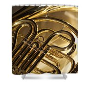 French Horn I Shower Curtain