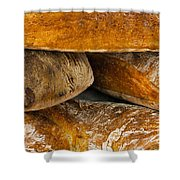 French Loaves Shower Curtain