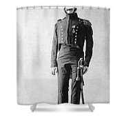 French Officer, 1814 Shower Curtain