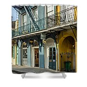 French Quarter Art And Artistry Shower Curtain