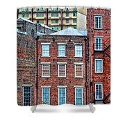 French Quarter Facades New Orleans Shower Curtain