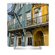 French Quarter Flair Shower Curtain