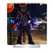French Quarter Monster Shower Curtain