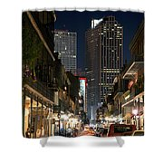 French Quarter New Orleans Louisiana Shower Curtain
