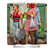 French Quarter - Party Time Shower Curtain