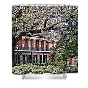 French Quarter Spring Shower Curtain