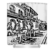French Quarter - The Final Ride Shower Curtain