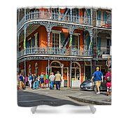 French Quarter Wandering 3 Shower Curtain